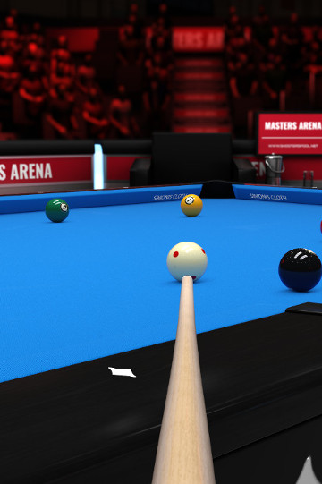 9 Ball Player view