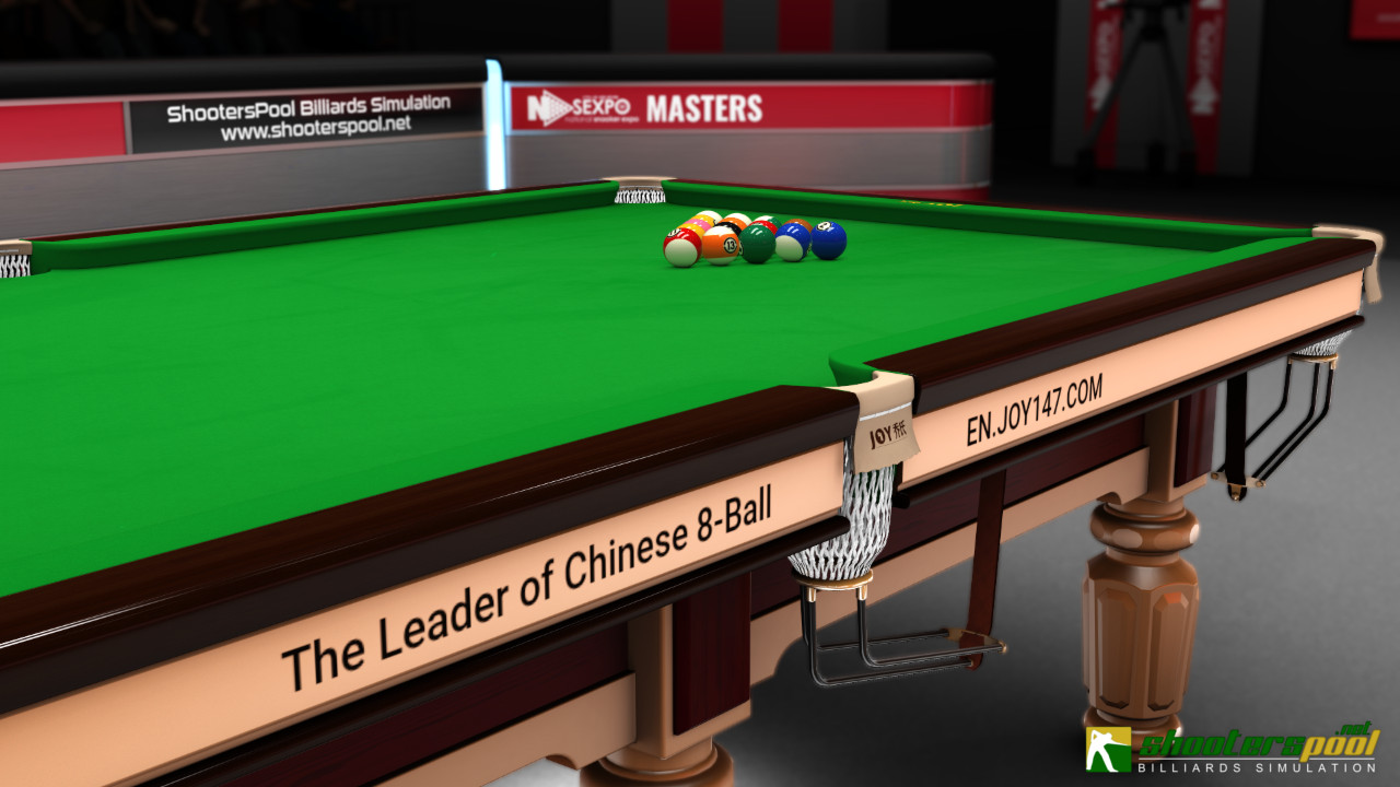 JOY Billiards JOY Q8 Chinese Pool Table