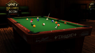 ShootersPool 8 Ball Diamond Pro Am